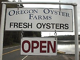 map to Oregon Oyster Farms, Newport, Oregon